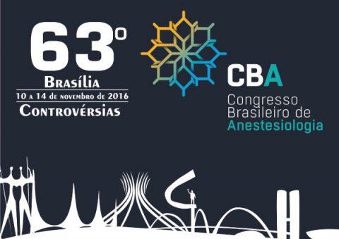 63º Congresso Brasileiro de Anestesiologia