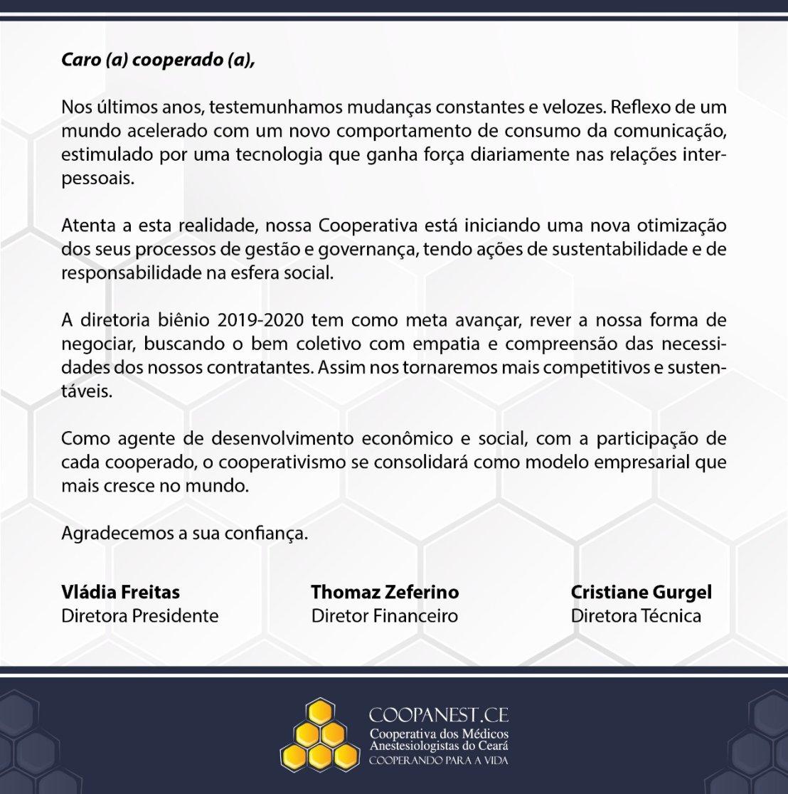 Mensagem.Diretoria.Bi.nio.2019.20120 26-03-2019